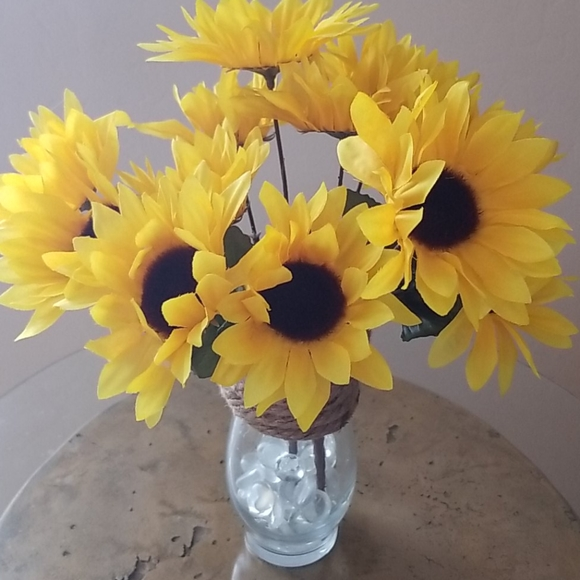 Other - Vase of Sunflowers